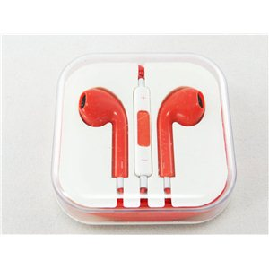 Kvalitní sluchátka s ovládáním-RED