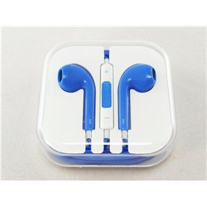 Kvalitní sluchátka s ovládáním-BLUE