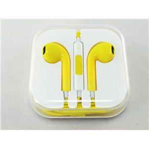 Kvalitní sluchátka s ovládáním-YELLOW