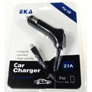 Nabíječka do auta 2100 mAh, + 1x USB konektor