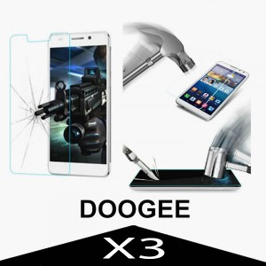 Tempered Glass Protector 0.3mm pro Doogee X3