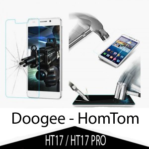 Tempered Glass Protector 0.3mm pro Doogee HomTom HT17 /HT17PRO