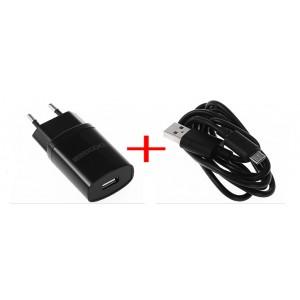 Síťová nabíječka Doogee pro DG700/T5/F5/F3 - 2000mAh + USB kábel