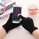 Rukavice pro dotykové displeje, černá