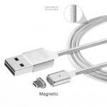 MicroUSB magnetický nabíjecí/datový kabel