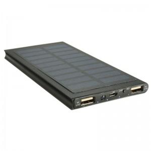 Mobilní akumulátor Powerbank Solar- SLIM -20 000 mAh