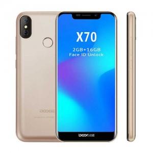 Doogee X70 DualSIM gsm tel. 2+16GB Gold