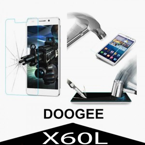 Tempered Glass Protector 0.3mm pro Doogee X60L