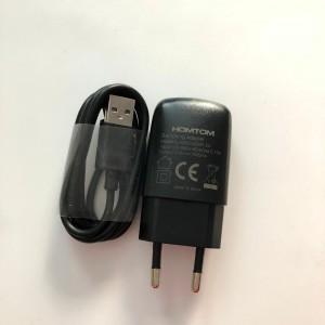 Síťová nabíječka Homtom pro C2,HT3,HT7,HT17,HT37,S17,S16 + USB kábel