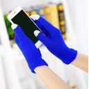 Rukavice pro dotykové displeje, modrá