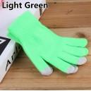 Rukavice pro dotykové displeje, zelená