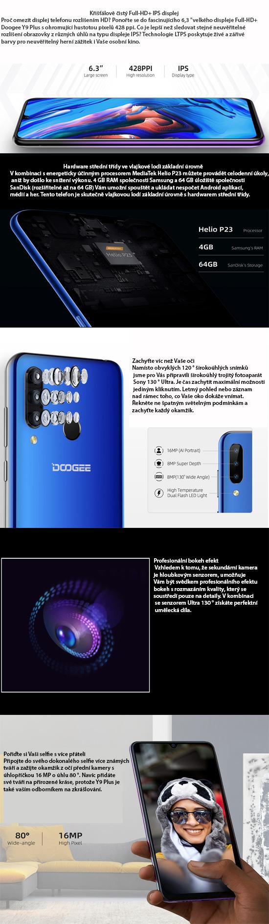 Doogee Y9 plus