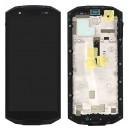 LCD Displej+ dotyková vrstva pro Doogee S70 s rámem