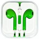 Kvalitní sluchátka s ovládáním-Green