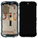 LCD Displej, rám + dotyková vrstva pro Doogee S96pro